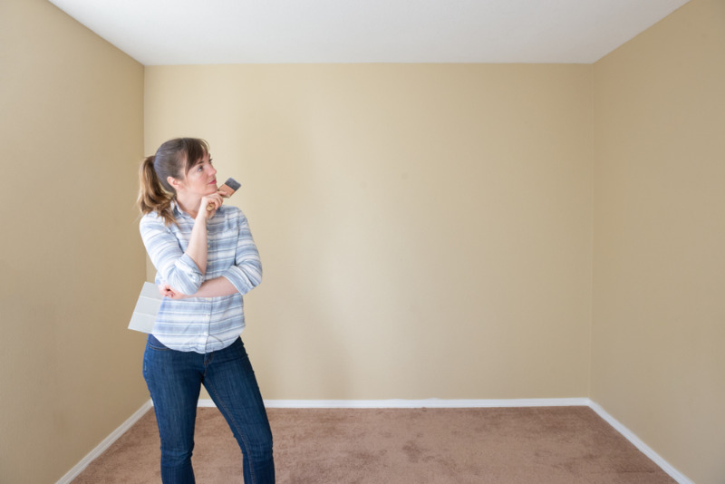 Painting color for ceiling